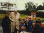 Myndir frá vígslu fyrsta Heilsu-leikskólans 1996